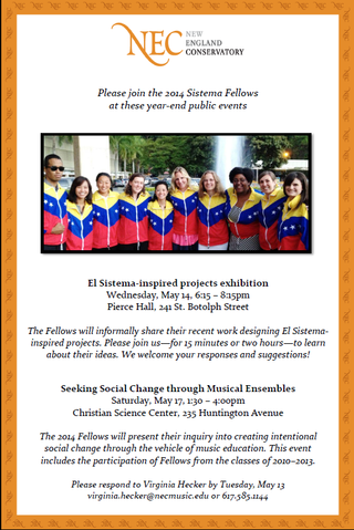 Sistema exhibition and symposium